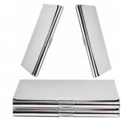Stealodeal Stainless Steel Card Holder (Pack of 4)