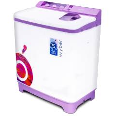 Wybor 7.8kg Violet Semi Automatic Top Load Washing Machine