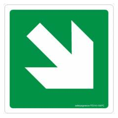 Safety Sign Store Arrow-Graphic Sign Board, FE316-210NGR-01