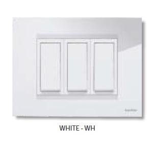 GreatWhite Fiana White 8M-H Twin Plate, 20607-WH (Pack of 10)