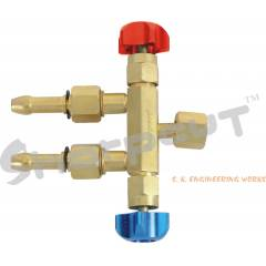 Sharpcut SHA-2077 Two Way Valve For Oxy./Fuel Gas