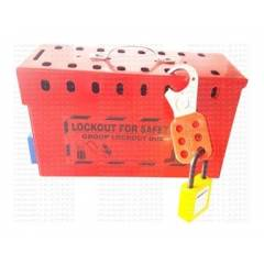 Asian Loto ALC-LGBS Group Lock Box for LOCKOUT / TAGOUT with 12 holes
