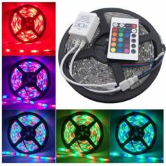 MTC 196.85 Inch Multi Colour Remote Controlled LED Strip Light