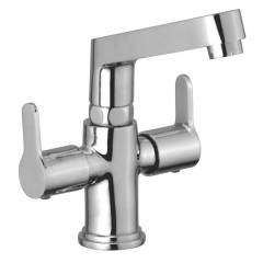 Jainex Admire Deck Mounted Basin Mixer with Free Tap Cleaner, ADM-6346
