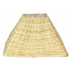 Aadhya Creations AC Square Tapered Bamboo Lamp Shade, AC13LS029