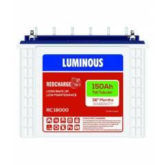 Luminous Redcharge 18000 Tubular Battery