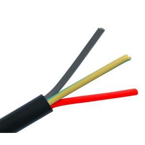 BCI 0.75 Sqmm 3 Core 100m Black PVC Round Flexible Cable