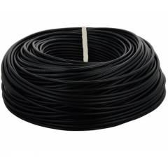 RISTACAB 0.5 Sqmm Single Core 90m Black PVC Flexible Unsheathed Industrial Cable