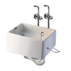 Vijay Water Saver Series C.P. Bed Pank Sink Complete With Fitting, 1025