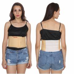 Optika Beige Super Abdominal Belt, KS-00000-SL-XL, Size: XL