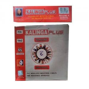 Kalinga Plus Rk 90m KL-06 PVC Insulated Industrial Cable, Size: 6 sq mm