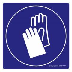 Safety Sign Store Safety Gloves-Graphic Sign Board, FS649-210V-01