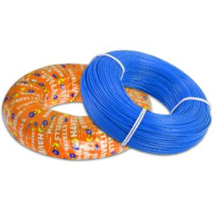 Havells 1.5 Sq mm Blue Life Shield Flexible Cable, WHFFZNBL11X5, Length: 180 m