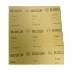 Bosch Eco 120 Grit Hand Sanding Sheet, Size: 230x280mm (Pack of 100)