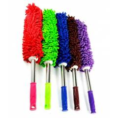 NSD Assorted Microfiber Duster with Long Aluminium Handle