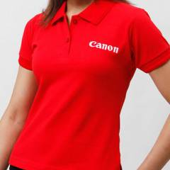 Generic Red Colour Customized Plain T-shirt, Size: XXL