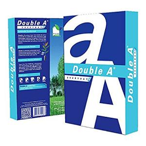 Double A 70 GSM A4 Size White Copier Paper (Pack of 2 Reams)