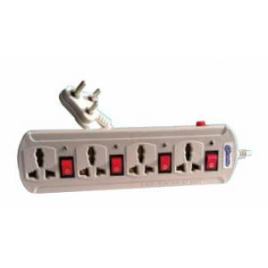 Cornetto Dazy 5A 4+4 Outlet 5 Yard Power Strip, 1106 (Pack of 10)