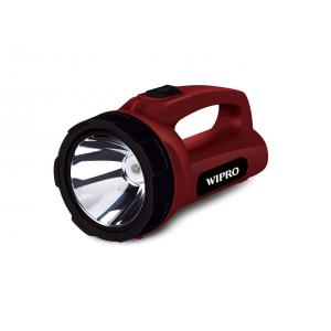 Wipro Emerald 5W Rechargeable LED Torch (with Inbuilt Lithium Battery)