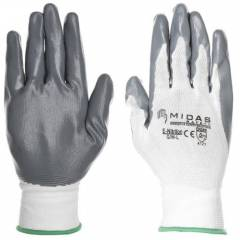 Midas GL 022 Safety Nitralon Hand Gloves, Size: 10 (Pack of 96)