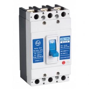 L&T DU 100D MCCBs TP, CM90517OOKO, 415V AC (Pack of 3)