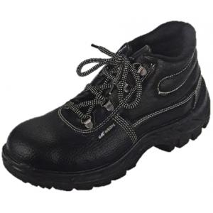 Metro SS 7004 High Ankle Steel Toe Safety Shoes, Size: 10