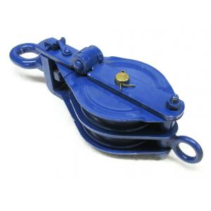 Kepro 10 Ton Double Sheave Wire Rope Pulley Block, KWRP214100