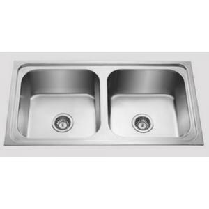 Jayna Apollo DBF 06 (DX) Matt Double Bowl Sinks, Size: 37.5 x 18.5 in