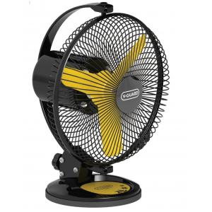 V-Guard Selfee 2600rpm Yellow & Black Table Fan, Sweep: 225 mm