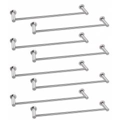 Abyss ABDY-1111 24 Inch Glossy Finish Stainless Steel Towel Rail (Pack of 8)