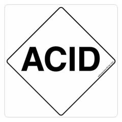 Safety Sign Store Acid Sign Board, FE736-105PC-01, (Pack of 5)