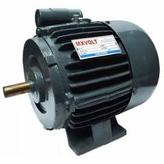 MXVOLT 0.5 HP 4 Pole Single Phase Foot Mounted FHP Induction Motor