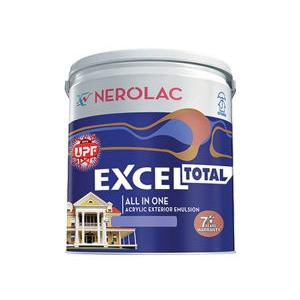 Nerolac Excel Total Paint, Ming Red-20L