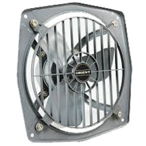 Orient Hill Air Dark Grey Exhaust Fan with Guard, 225mm, 1300 Rpm