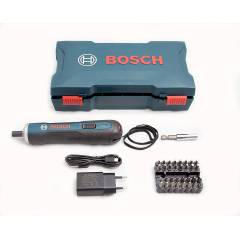 Bosch GO Kit Professional Cordless Screwdriver with 33 Bits Set