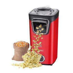 Warmex 1100W Red & Black Plastic Popcorn Maker