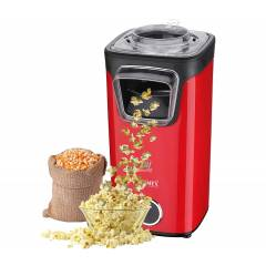 Warmex 1100W Red & Black Plastic Popcorn Maker