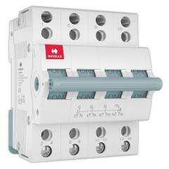 Havells EURO-II 50A C Curve FP MCB, DHMGCFPF050 (Pack of 3)