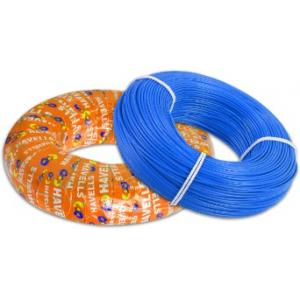 Havells 6 Sq mm Life Guard Low Smoke & Halogen Blue FR Cable, WHFFFNBL16X0, Length: 180 m