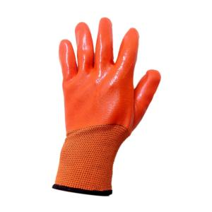Gripwell Cut Resistant Hand Gloves with Three Fourth Rough PVC Coated (Pack of 20)