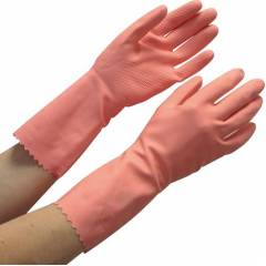 Surf Latex Rubber 621U-45 Hand Gloves, Pink (Pack of 5)