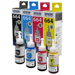 Epson Ink Bottle Set of 4 Pieces