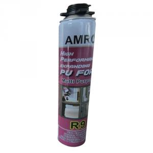 Amro R9 750ml Spray Type PU Expandable Foam Sealant (Pack of 6)