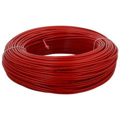 RISTACAB Red PVC Insulated Unsheathed Copper Cable, 90m, 1.5 sq mm