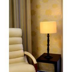 Tucasa Table Lamp Circular Shade, LG-219, Weight: 800 g