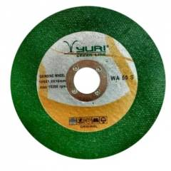 Yuri 4 Inch Green Cut-Off Wheel, Dimensions: 105x1x16 mm (Pack of 25)