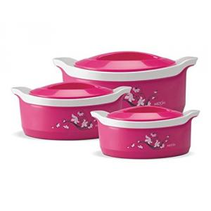 Milton Marvel 3 Pieces Assorted Casserole Set, M1002-MMC-IN