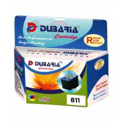 Dubaria CL-811 Tricolor Ink Cartridge For Canon Printers