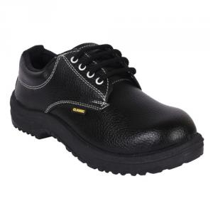 Prima PSF-21 Classic Steel Toe Black Safety Shoes, Size: 11 (Pack of 24)