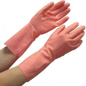 Surf Latex Rubber 621U-45 Hand Gloves, Pink (Pack of 10)